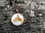 Fancy Fox Pendant